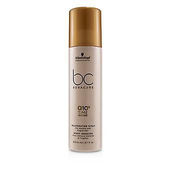 Schwarzkopf BC BONACURE Q10 + spray rejuvenecedor de tiempo (para cabellos maduros y frágiles) 200ml/6.7 oz