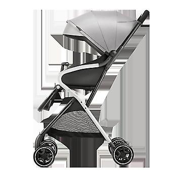 Baby Trolley Portable Folding, Easy To Sit, Lie Down Parachute,