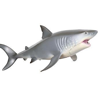 Morský život Zvieratá Veľký biely žralok Model Pvc figúrky Simulačné modely