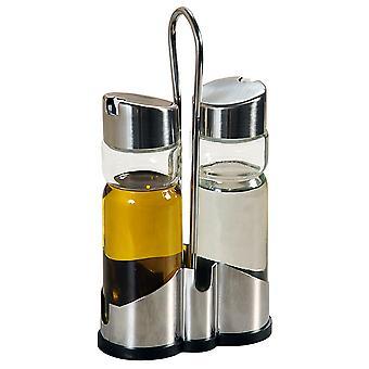 Aceite y vinagre set de vidrio