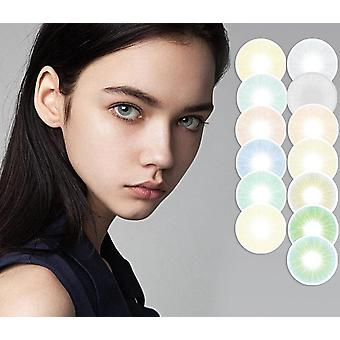 Hidrocor Queen Series Colored Contact Lenses Annual Soft Color Contact Lens