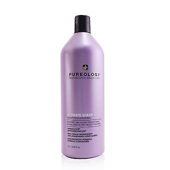 Pureology Hydrate Sheer Shampoo (For Fine  Dry  Color-Treated Hair) 1000ml/33.8oz