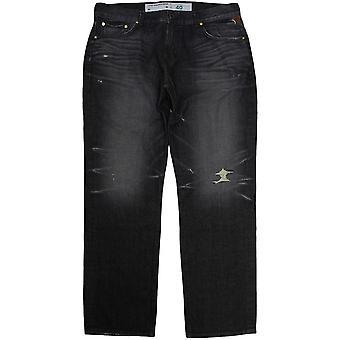 Lrg True Straight Jeans Trippel Indigo