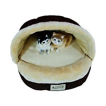 Armarkat zapatilla forma cama de gato, Mocha, C05Hkf / Mh