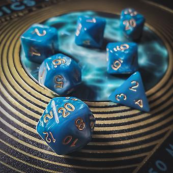 Dampende blå