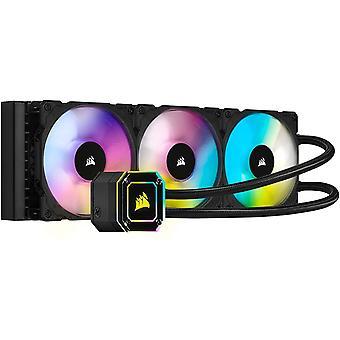 Wokex iCUE H150i ELITE CAPELLIX CPU-Flssigkeitskhlung (33 Ultrahellen CAPELLIX RGB-LEDs, Drei