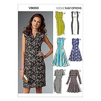 Vogue Naaipatronen 9050 Misses Jurk Maat 6-14 A5