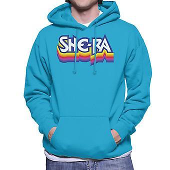 She-Ra Multicolour Logo Men's Hooded Sweatshirt
