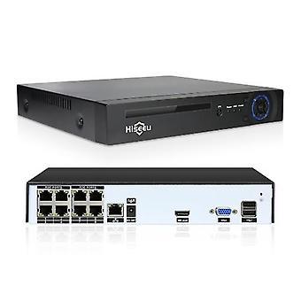 8CH NVR PoE Nettverk Videoopptaker
