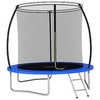 vidaXL Trampolin-Set Rund 244×55 cm 100 kg