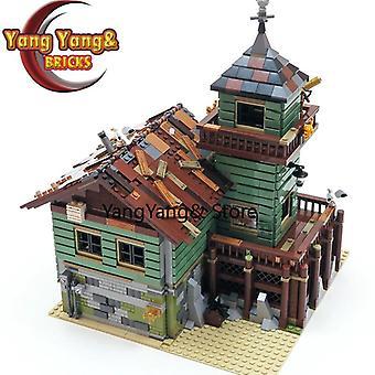 Die alten Angelladen Stadt Modellbausteine