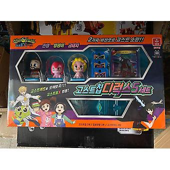 Interactive Desktop Game, Card Doll Action Figure Model, Multiple Play