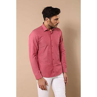 Pistekuvioinen vaaleanpunainen paita | Kävi koulua wessi