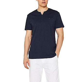 edc de Esprit 059cc2k009 Camiseta, Azul (Azul 400), Hombres Medianos