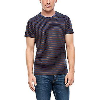 s.Oliver 130.10.008.12.130.2041610 T-Shirt, Navy Stripes, XXXL Homme