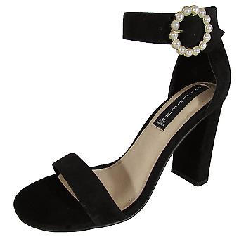Steven Womens Elm High Heel Sandal Shoes