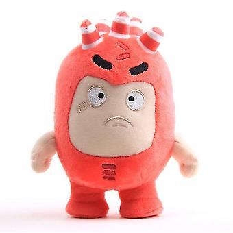 18Cm punainen oddbods pehmonukke, sarjakuva anime nukke az7737