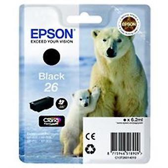 Epson C13T26014012 (26) Ink cartridge black, 220 pages, 6ml