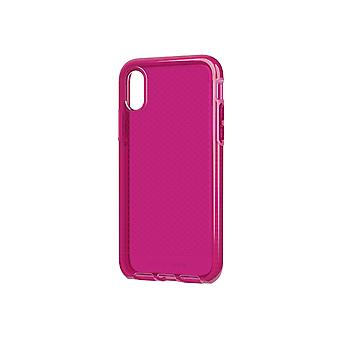 Tech 21 Evo Check Phone Case for iPhone X - Fuchsia