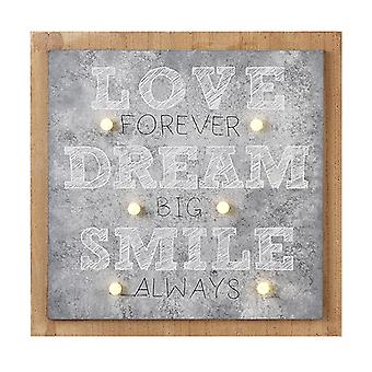 Love Dream Smile Led Decoration By Heaven Sends