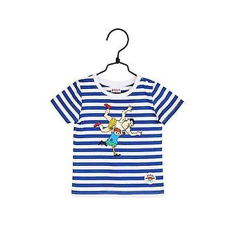 Pippi Langstrømpe Vinder-t-shirt blå