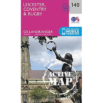 Leicester Coventry Rugby Ordnance Survey