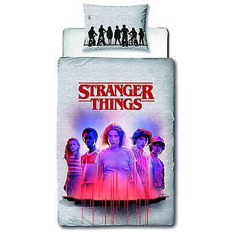 Stranger Things Darkside Eenpersoons Dekbedovertrek Set