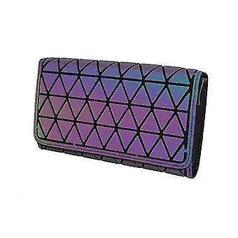 Women Holographic Laser Envelope Clutch Handbag , Chain Shoulder Bag Tote(Color 5)
