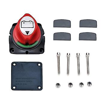 Master cell switch kit with screws power cut off current isolator disconnect for cars trucks rv