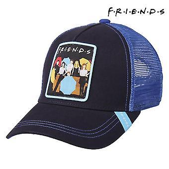Unisex hatt Vänner Mörkblå (58 cm)