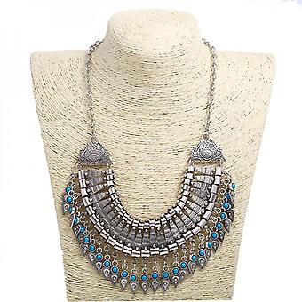 Regional Characteristics And National Style Tassel Pendant Necklace
