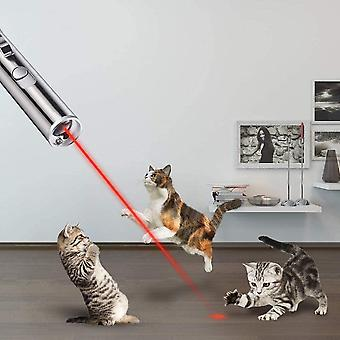 Cat Dog Puppy Toy Led Poiniter Light For Pets Playing With Usb Cable