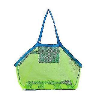 Kültéri gyermek strand játék tároló táska, hordozható Mesh Beach táska
