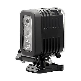Waterdichte LED Flash Fill Light Spot Lamp voor Gopro Hero 4 Session SJCAM Xiaomi Yi DSLR Camera