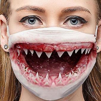 أقنعة طبية مضحك المطبوعة الغبار الناعم دليل قابل للتنفس قابلة لإعادة الاستخدام قناع الوجه القابل للغسل