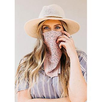 Medical masks boho bandana face mask rose sm117048