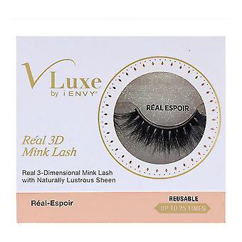 False Eyelashes V Luxe 3D Realmink I-Envy Vler02 Real Espoir