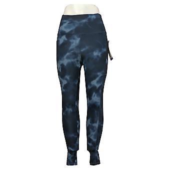 Danskin Leggings Ladies' Super Soft Full Length Blue