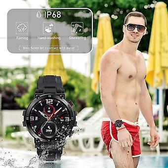 Smart Klocka, Smart Klocka med Oximeter Blodtryck Pulsmätare Kvinnor Män Smartwatch Sport