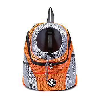 Двойное плечо Портативный рюкзак для путешествий Открытый рюкзак для собак сумка для домашних животных Собака Передняя сумка