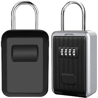 Secure Key Box Seinäkiinnitys avain laatikko, erittäin suuri lukko laatikko ulkoinen