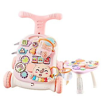 Baby Early Education Multifunctional Three-in-one Walker Music Toy