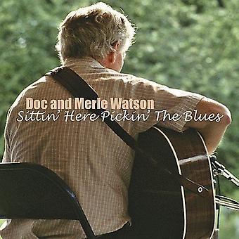 Watson/Saunders - Sittin' Here Pickin' [CD] USA import