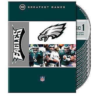 Importer des Philadelphia Eagles 10 plus grands matchs de la NFL [DVD] é.-u.