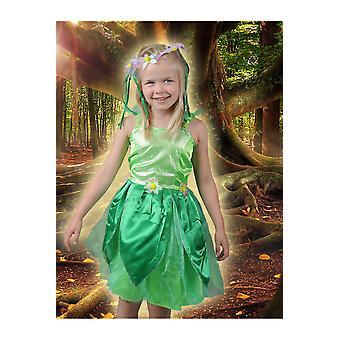 Pour enfants costumes fée verte Bell