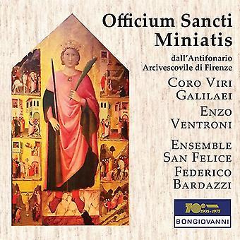 Ventroni, E. / Bardazzi, Federico - Officium Sancti Miniatis [CD] USA import