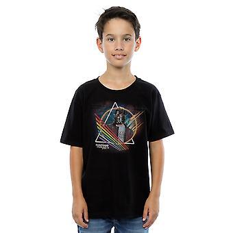 Maravilhe-se meninos guardiões da galáxia Neon estrela senhor mascarado de t-shirt