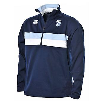 Zip di CCC Cardiff 1/4 stretch giacca da training [Marina]