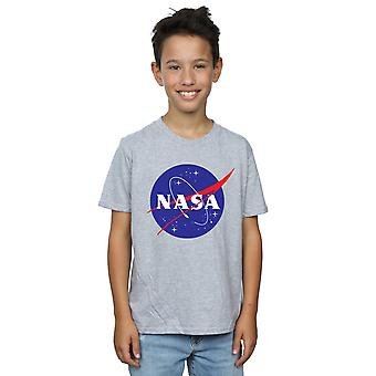 NASA Boys Classic Insignia Logo T-Shirt
