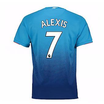 2017-2018 arsenal weg Shirt (Alexis 7)